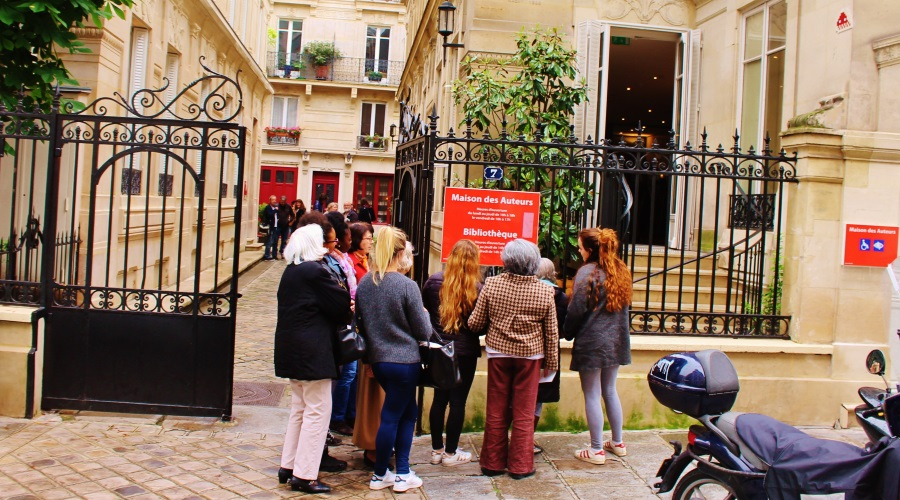 Sortie pour les résidents du centre Alzheimer de la Rue Blancje